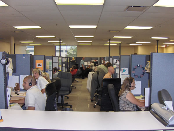 RMCN Credit Services Headquarters Sales Room View 1