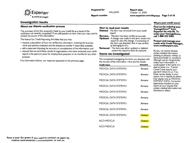 how to read my transunion credit report